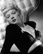 Publicity Shot Framed Prints - Betty Hutton, Paramount Pictures, 1943 Framed Print by Everett