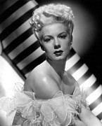 Bare Shoulder Framed Prints - Betty Hutton, Paramount Pictures, 1947 Framed Print by Everett