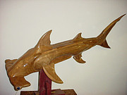 Shark Sculptures - Betty by Thomas Thomas
