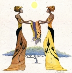 African-american Art - Between Friends by Albert Fennell