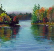 Lakes Pastels - Between Two Islands by Marcus Moller