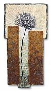 Spiritual Tapestries - Textiles Tapestries - Textiles - Between Walls 9 by Lorraine Roy