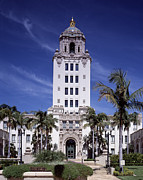 2000s Photo Prints - Beverly Hills Spanish Renaissance City Print by Everett