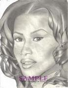 Tattoo Stencils Drawings - Beverly by Rick Hill