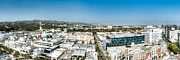 Enterprise Framed Prints - Beveryly Hills Panoramic Framed Print by Josh Whalen