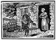 Bewick: Beggar Print by Granger