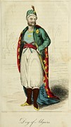 Bloomers Prints - Bey Of Algiers. Ca. 1800. The Bey Or Print by Everett