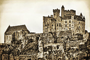Aquitaine Metal Prints - Beynac Castle Metal Print by Paul Topp