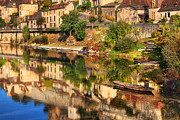 France Photo Originals - Beynac-Dordogne France by John Galbo