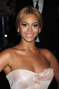 Beyonce Prints - Beyonce At Arrivals For Superheroes Print by Everett