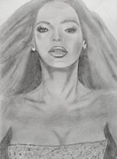 Rnb Art - Beyonce by Estelle BRETON-MAYA