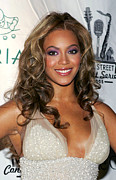 Cipriani Restaurant Wall Street Prints - Beyonce Knowles At Arrivals For The Print by Everett