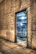 Chicago Art - Beyond the door by Scott Norris