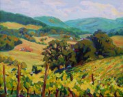 Grape Vineyards Originals - Beyond the Vines by Margaret  Plumb