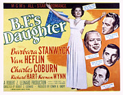 Wynn Posters - B.f.s Daughter, Barbara Stanwyck, Van Poster by Everett