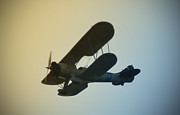 Bi-plane Prints - Bi-Plane Print by Bill Cannon