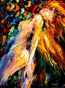 Afremov Framed Prints - Bias Framed Print by Leonid Afremov