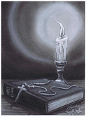 Bible Pastels - Bible by Chris Harber