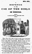 Pamphlet Posters - BIBLE IN SCHOOLS, c1830 Poster by Granger