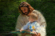 Savior Painting Framed Prints - Bible Stories Framed Print by Greg Olsen