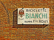 Old Milano Photos - Biciclette Bianchi by William Fields