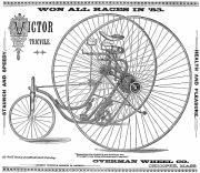 Bicycle, 1884 Print by Granger