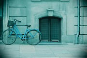 Bicycle Blues Print by Sophie Vigneault