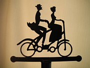 Tandem Bicycle Prints - Bicycle Built For Two Print by Jeannie Atwater Jordan Allen