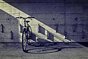 Concrete Framed Prints - Bicycle Framed Print by Joana Kruse