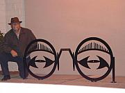 Bicycle Sculptures - Bicycle rack by Steve Mudge