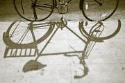 Bicycle Photos - Bicycle Shadow by David DuChemin