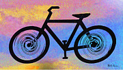 Hippie Posters - Bicycle Shop Poster by Bill Cannon