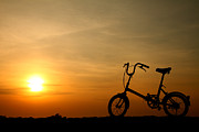 Phalakon Jaisangat - Bicycle silhouette at...