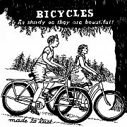 Bicycle Drawings - Bicycles - As Sturdy As They Are Beautiful by Karl Addison