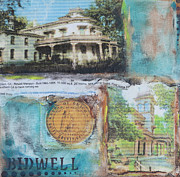 Founding Father Mixed Media - Bidwell Mansion by Robin Lee