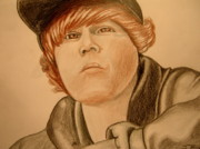 Justin Bieber Drawings Originals - Bieber by Jason Birdsong