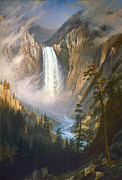 Bierstadt Photos - Bierstadt: Yellowstone by Granger