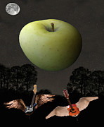 Rock Around The World Posters - Big Apple Rocks Poster by Eric Kempson