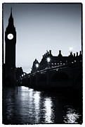 And Posters Prints - Big Ben At Night Print by John Rizzuto