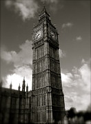 Big Ben Print by John Colley