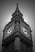 Clock Framed Prints - Big Ben Framed Print by Kamil Swiatek