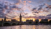 Palace Of Westminster Prints - Big Ben London Print by Lee-Anne Rafferty-Evans