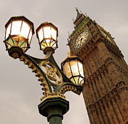 Clock Tower Photos - Big Ben by Sylvia Rueda Photography