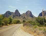 Business Greeting Cards Art - Big Bend National Park Texas by M K  Miller