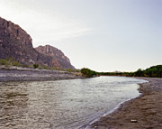 Business Greeting Cards Art - Big Bend Park Rio Grand River by M K  Miller