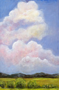 Posters From Painting Framed Prints - Big Blue Colorado Sky Framed Print by Pati Pelz