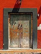 Portal Photos - Big Blue Door by Olden Mexico