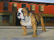 Boxer Paintings - Big Boy by Matt Cook