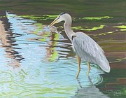 Great Pastels - Big Breakfast Canvas Giclee Print by Carol Thompson