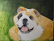 Puppies Originals - Big Bulldog by Joette Watson
